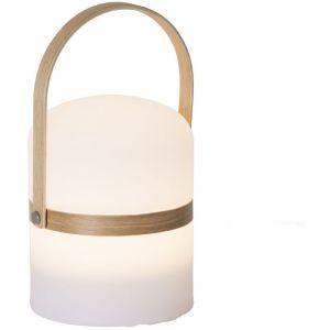 Atmosphera Lampe lanterne d'extérieur Mood - Diam. 14,5 cm - Blanc