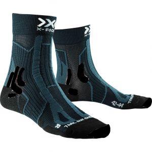 X-Socks Trail Run Energy Chaussettes course à pied Homme, opal black EU 45-47 Chaussettes de compression