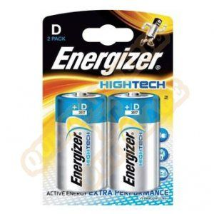 Energizer High Tech x2 piles LR20
