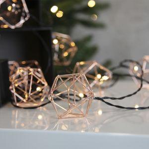 Star - Guirlande lumineuse EDGE cuivre