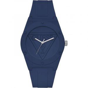 Guess Montre W0979L4 - Montre Bracelet Silicone Bleu Mixte