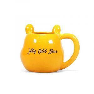 Half Moon Bay Winnie The Pooh - Shaped Ceramic Mug 3d - Silly Old Bear [Produit Derive]