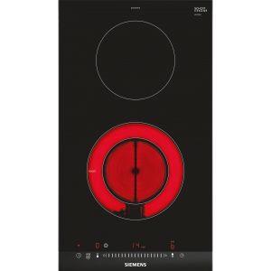 Siemens eh875ku12e table de cuisson vitroc ramique 2 - Table de cuisson vitroceramique 2 foyers ...