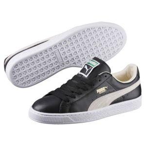 Image de Puma 351912, Sneakers Basses mixte adulte, Noir (Black/White), 46 EU