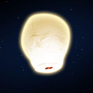SkyLantern Lanterne volante blanc