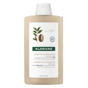 Klorane Shampoing Nutrition et Reparation au Beurre de Cupuacu - 400 ml