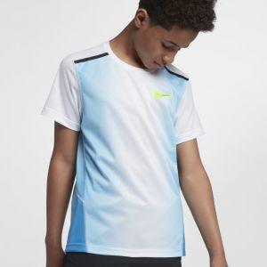 Nike Haut de trainingà manches courtes pour Garçon plus âgé - Bleu - Taille XS - Male