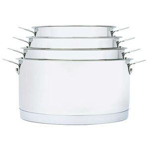 Aubecq Casserole Plug and Play 18 cm inox compatible tous feux dont induction