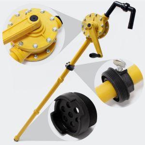Pompe à manivelle 30 litres par min vide fût baril pour diesel fuel gasoil