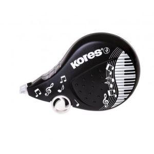 Kores KR84972 - Roller correcteur Black & White, 4,2 mm x 8 m