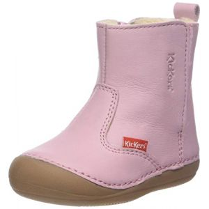 Kickers Boots enfant SOCOOL rose - Taille 18,19
