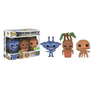 Funko 3 figurines Pop! Harry Potter : Cornish Pixie, Mandrake & Grindylow
