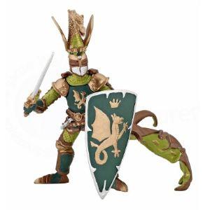 Papo Figurine Maître des armes cimier dragon