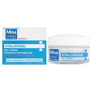 Mixa Hyalurogel hydratant intensif à l'acide hyaluronique