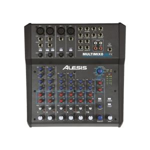 Alesis MultiMix 8 USB FX - Table de mixage hybride
