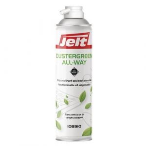 Jelt Aérosol de dépoussiérage Dustergreen All Way, toutes positions - 300 g