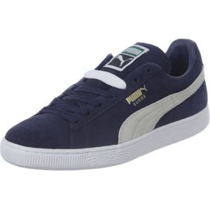 Puma Suede Classic - Baskets Mode - Mixte Adulte - Bleu (Peacoat/White 51) - 43 EU