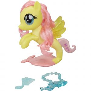 Hasbro My Little Pony - Poney Sirène Scintillant - Fluttershy