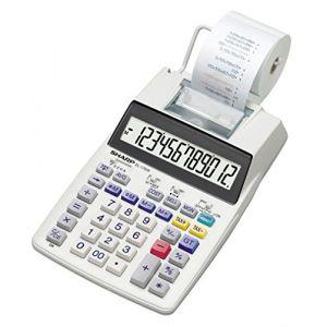 Sharp EL-1750V - Calculatrice avec imprimante LCD 12 chiffres
