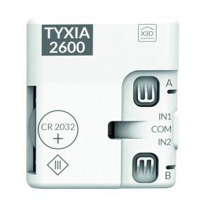 Delta Dore TYXIA 2600 émetteur pile x3D multifonctions 2 voies (nano)