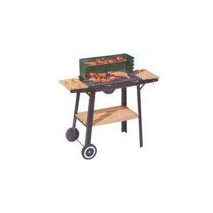 Tarrington House Barbecue chariot sur roues 3 servantes bois