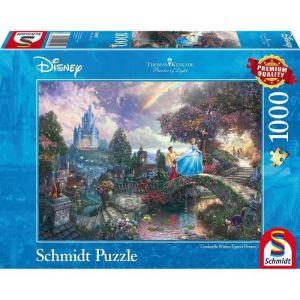 Schmidt Thomas Kinkade Disney Cendrillon - Puzzle 1000 pièces