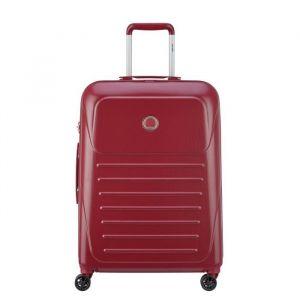 6943e0e95a Visa Delsey Valise Trolley Munia - 66 cm - 4 Roues - Rouge