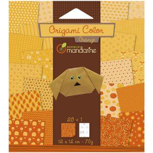 Avenue mandarine Origami Color