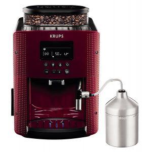 Krups EA816570 - Cafetière automatique avec écran de contrôle 15 bar 1450W