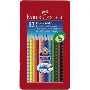 Faber-Castell Colour Grip 2001 Boîte de 12 crayons de couleurs (Import Allemagne)