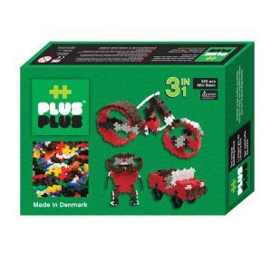 Plus Plus PP3710 - Box 3-en-1 Mini Basic 220 pièces