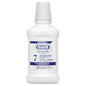 Oral-B 3D White Luxe Perfection - Bain de Bouche 250ml sans Alcool