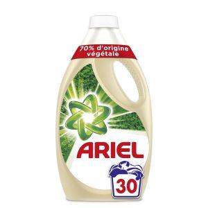 Ariel Lessive liquide, 70% d'origine végétale, efficace à 20 degrés