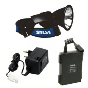 Silva Lampe frontale 478 + Chargeur + Batterie 9.0Ah