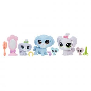 Image de Hasbro Littlest Pet Shop Family Packs - Puppies Solid
