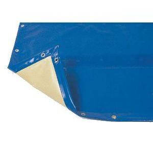 Bâche hiver Luxe bleue compatible piscine Ness diam 4.60m