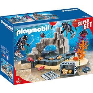 Playmobil 70011 - Superset Unité De Plongée Sous-Marine