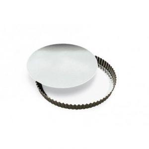 Gobel Tourtière ronde cannelée fond mobile (24 cm)