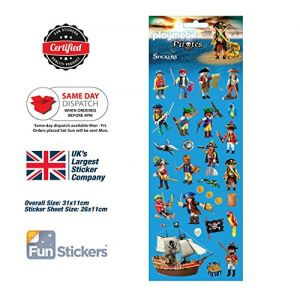 1001 Stickers Pirates