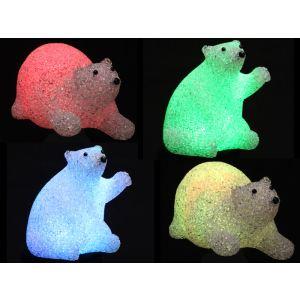 Ours lumineux Eva LED - pour l'intérieur