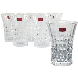 Cristal d'Arques 9295210 - 6 gobelets Lady Diamond forme haute en diamax (36 cl)