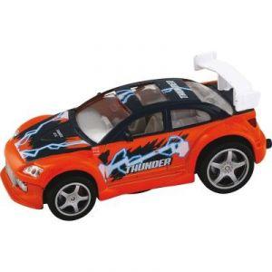 John World Thunder - Voiture de course sonore et lumineux 11,5 cm Orange