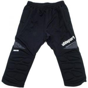 Uhlsport ANATOMIC Short Long Gardien - Pantalon Gardien Football - Renfort Hanches et Genoux - Ceinture Elastique - noir