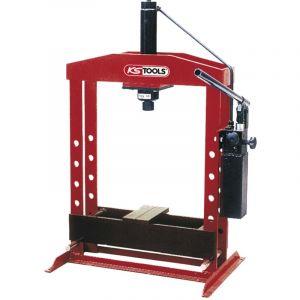 KS Tools Presse hydraulique, 20 tonnes à pompe hydraulique 2 vitesses 160.0113
