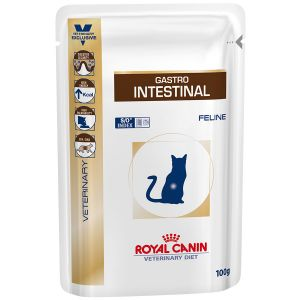 Royal Canin Veterinary Diet Chat Gastro Intestinal - 12 sachets de 100g