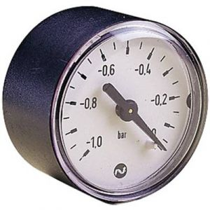Norgren Manomètre M/58080 Raccordement à l'arrière 1 à 0 bar Filetage extérieur 1/8 1 pc(s)