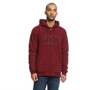 DC Shoes New Star Sherpa - Sweat à capuche zippé pour Homme - Rouge
