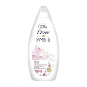 Dove Secrets de soin Fleur de Lotus & Huile de riz - Douche soin nourrissante