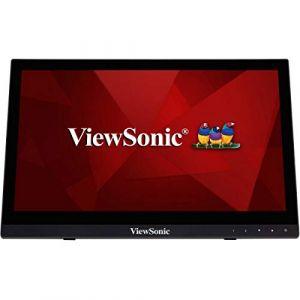 ViewSonic TD1630-3 Moniteur tactile 40.6 cm (16 pouces) EEC A++ (A+++ - D);1366 x 768 pixelsWXGA12 msHDMI?, USB, VGA, jackTN LCD