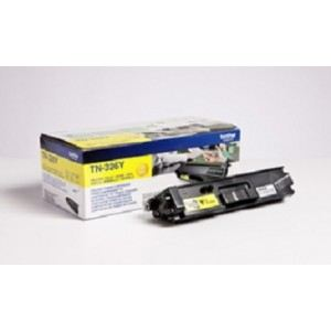 Brother TN-326Y - Toner jaune 4000 pages